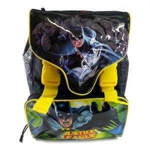 Zaino Scuola Estensibile DC Comics Justice League Nero  - 132250/N