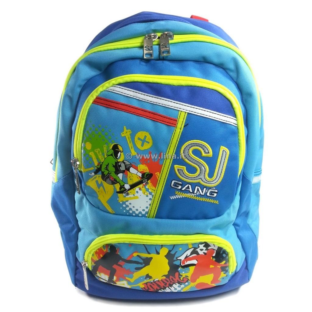 024ec5d8e6 Zaino Scuola Seven Tondo Round SJ Boy Blu Scuola 2014/15 - 201001406B