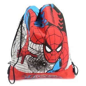 Sacca Free Con Coulisse Spiderman Rosso Blu Scuola 2013/14 - 49426