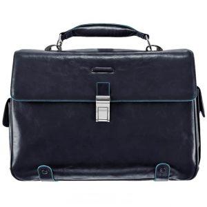 Cartella Piquadro P/PC e iPad/iPad Air 2 tasche 1 Chiusura Blu Notte Linea Blue Square - CA1066B2/BLU2
