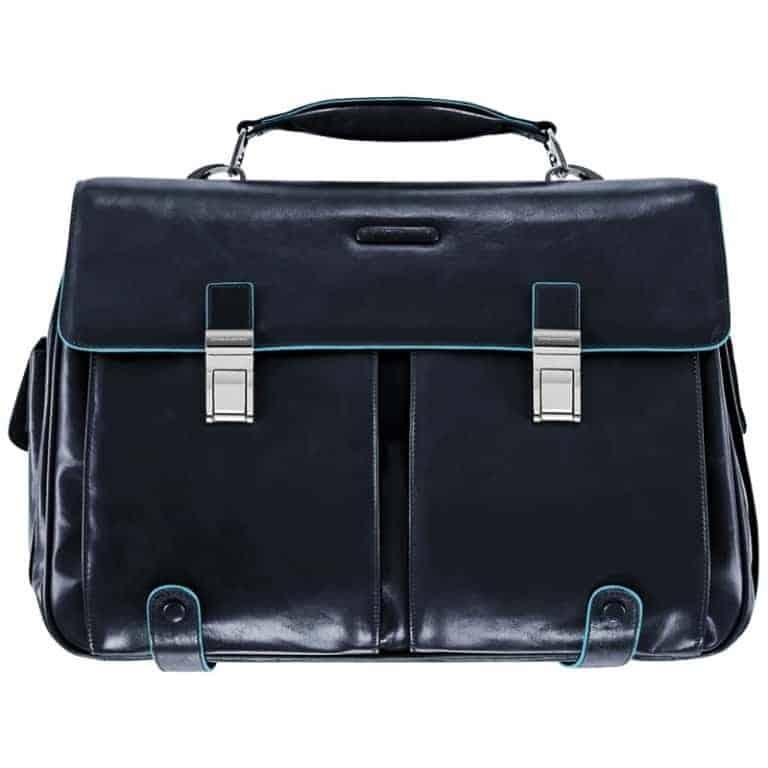Cartella Piquadro P/PC e iPad/iPad Air 2 tasche Blu Linea Blue Square - CA1068B2/BLU2