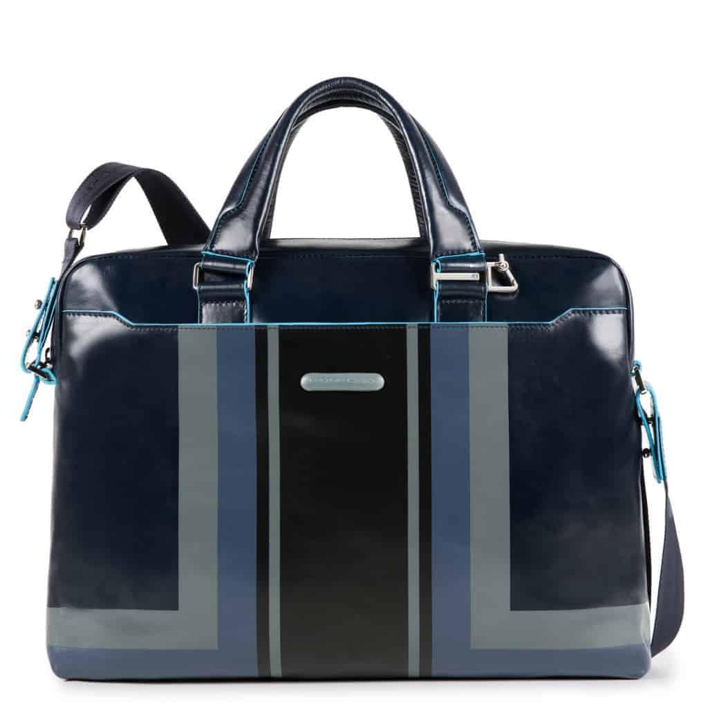 f2f20a828b Cartella Piquadro porta pc pelle Blue Square blu - CA3335B2SER/BLU