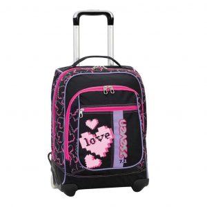 Trolley Seven maxi round LOVE HEART  - 201001659-899