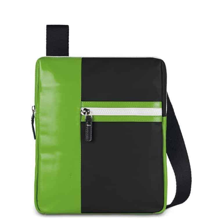 ca2d3d3e2c Borsello Uomo Porta iPad Pelle e Tessuto Piquadro Nero Linea Eta -  CA1816WO11/N