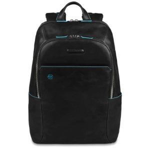 Zaino Piquadro porta pc in pelle Blue Square nero  - CA3214B2/N