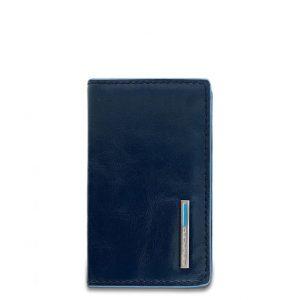 Portabiglietti da visita Piquadro pelle Blue Square blu  - PP1263B2/BLU2