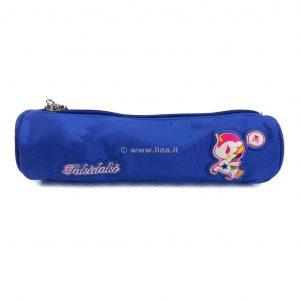 Astuccio Scuola Bustina Mini Tokidoki Special Fucsia Blu  - TOK53603F