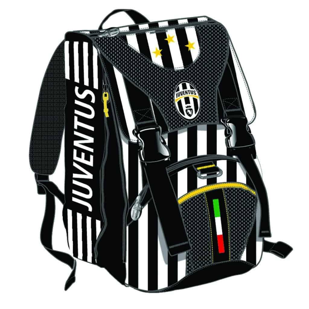 338f40ce7a Zaino Juventus con astuccio 3 zip Kick Off pallone omaggio - 6B6001603