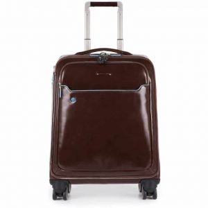 Trolley Piquadro cabina slim porta PC Blue Square marrone  - BV3849B2/MO