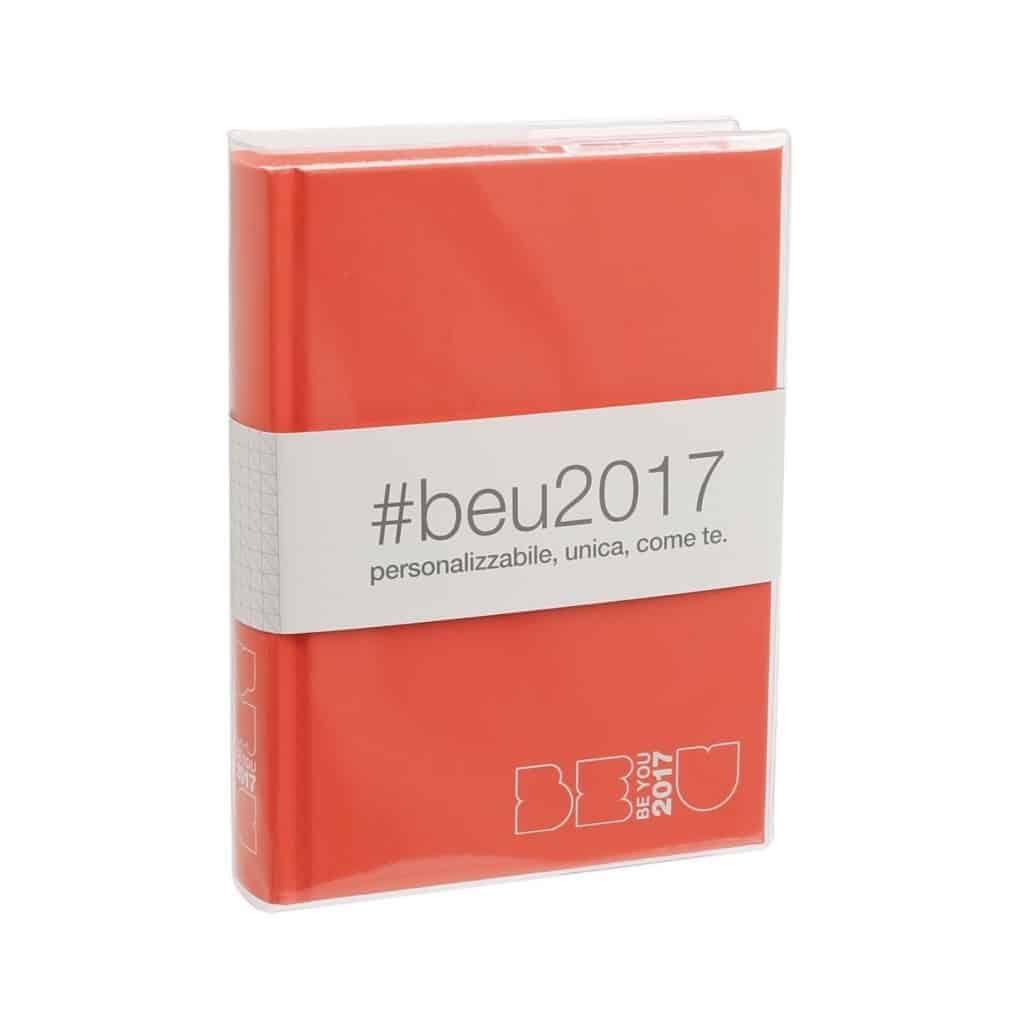 Diario Be U 2017 Mini 14x11 Arancio Be917000