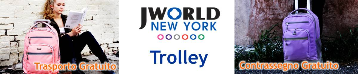 Novità Trolley JWORLD