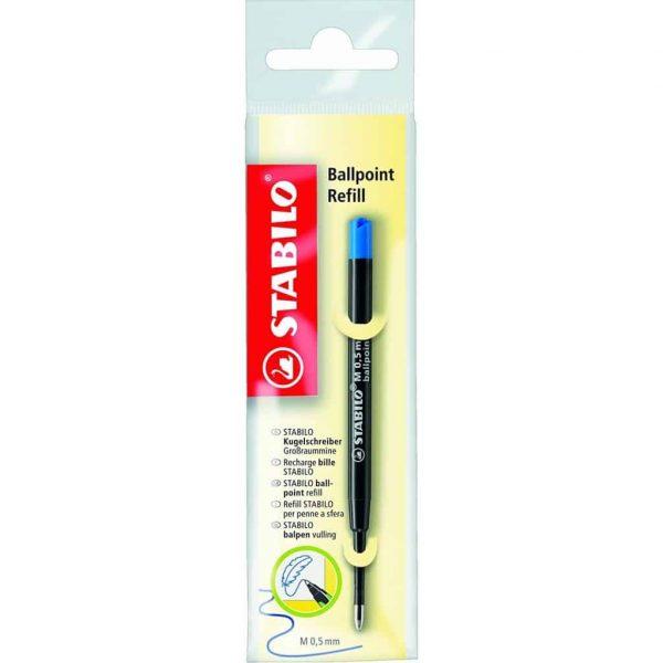 Stabilo BallPoint refill penna sfera blu  - 2/041-02