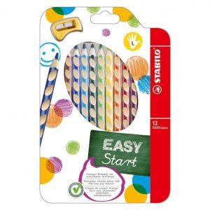 Matite Easy Color Stabilo 12 Colori Mancini  - 331/12