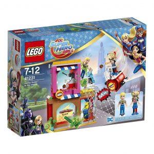 Lego SUPER HEROES GIRLS Harley Quinn al salvataggio  - LEGO41231