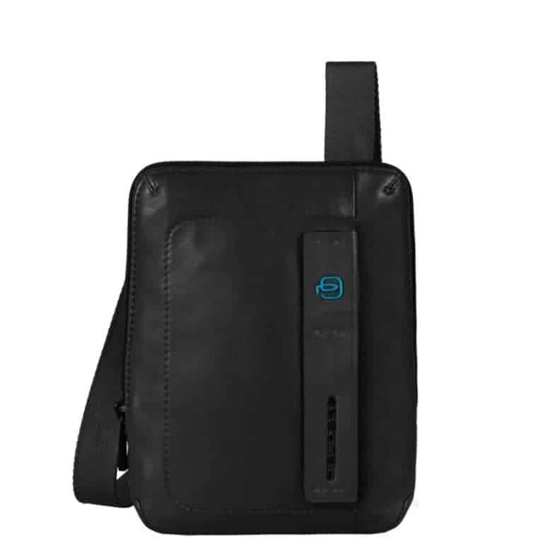 2f8f54b3db Borsello Uomo Porta iPad Mini In Pelle Piquadro Nero Linea Pulse -  CA3084P15/N