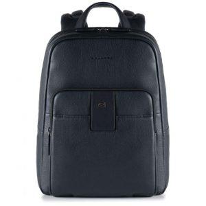 Zaino Piquadro porta pc e iPad in pelle Aurea nero  - CA3999S86/N