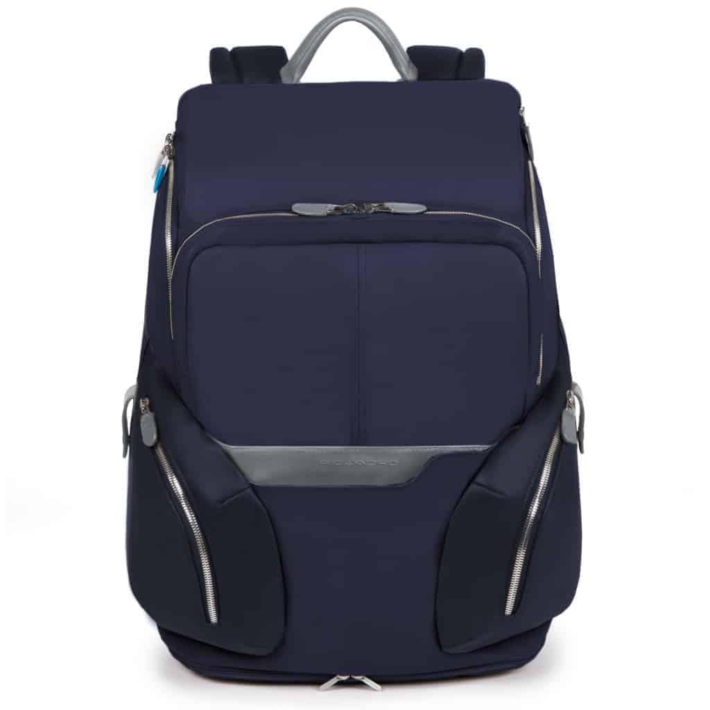 Zaino Piquadro espandibile porta pc pelle Coleos blu - CA3773OS BLU2 54b0d490842