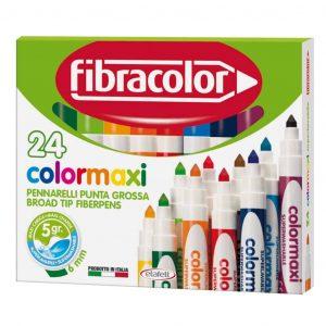 Pennarelli Fibracolor COLORMAXI 24 colori