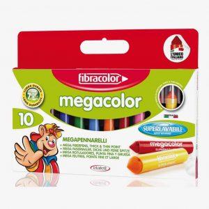 Megapennarelli Fibracolor MEGACOLOR 10 colori