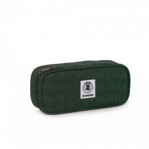 Portapenne Invicta round LIP verde  - 306021701-627