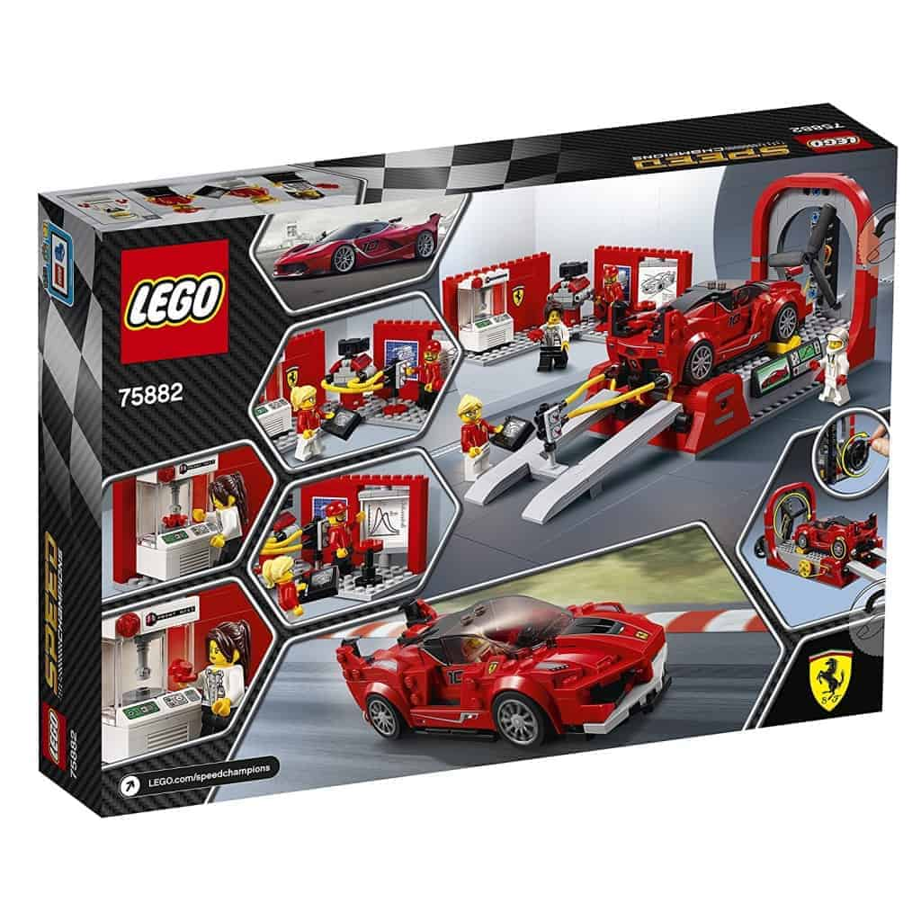 lego speed champions ferrari fxx k e galleria del vento. Black Bedroom Furniture Sets. Home Design Ideas