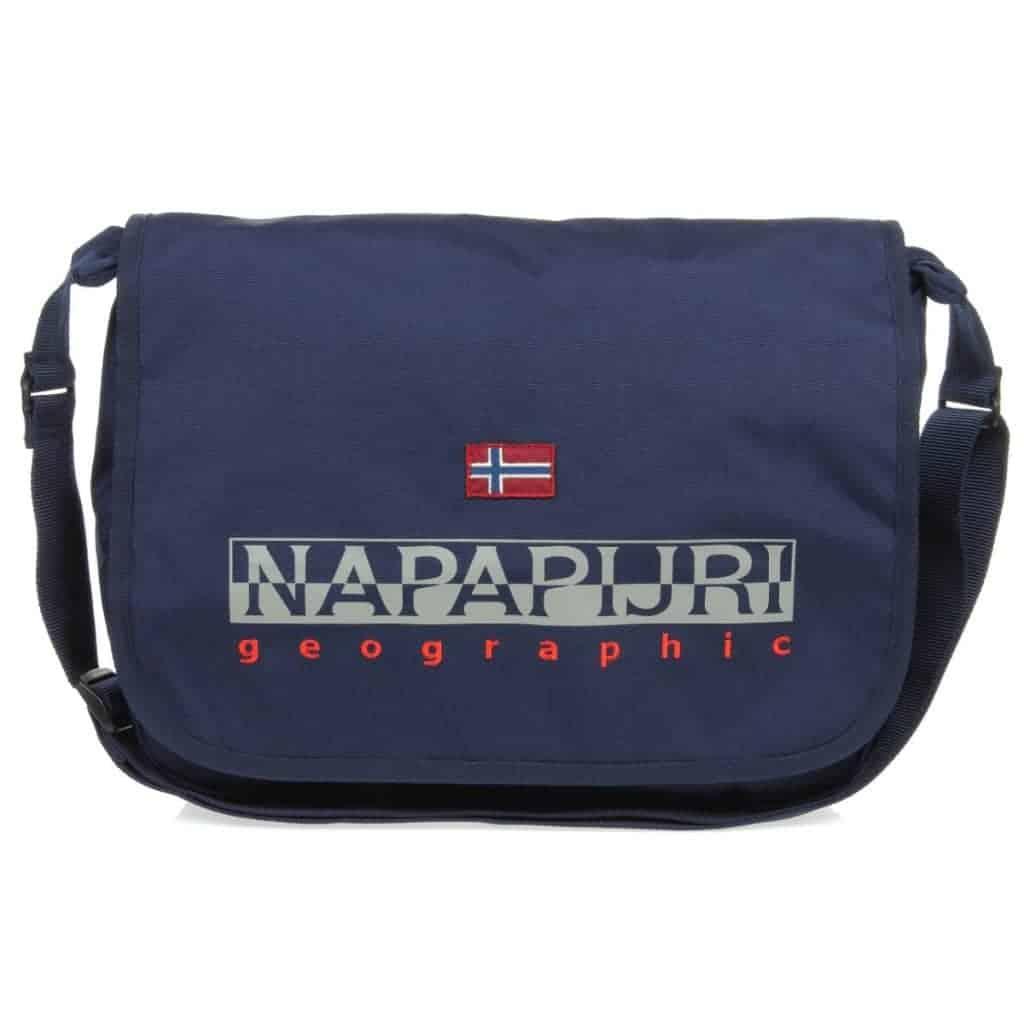 negozio online 1407a 02c2c Tracolla Napapijri Harris Blu Marine