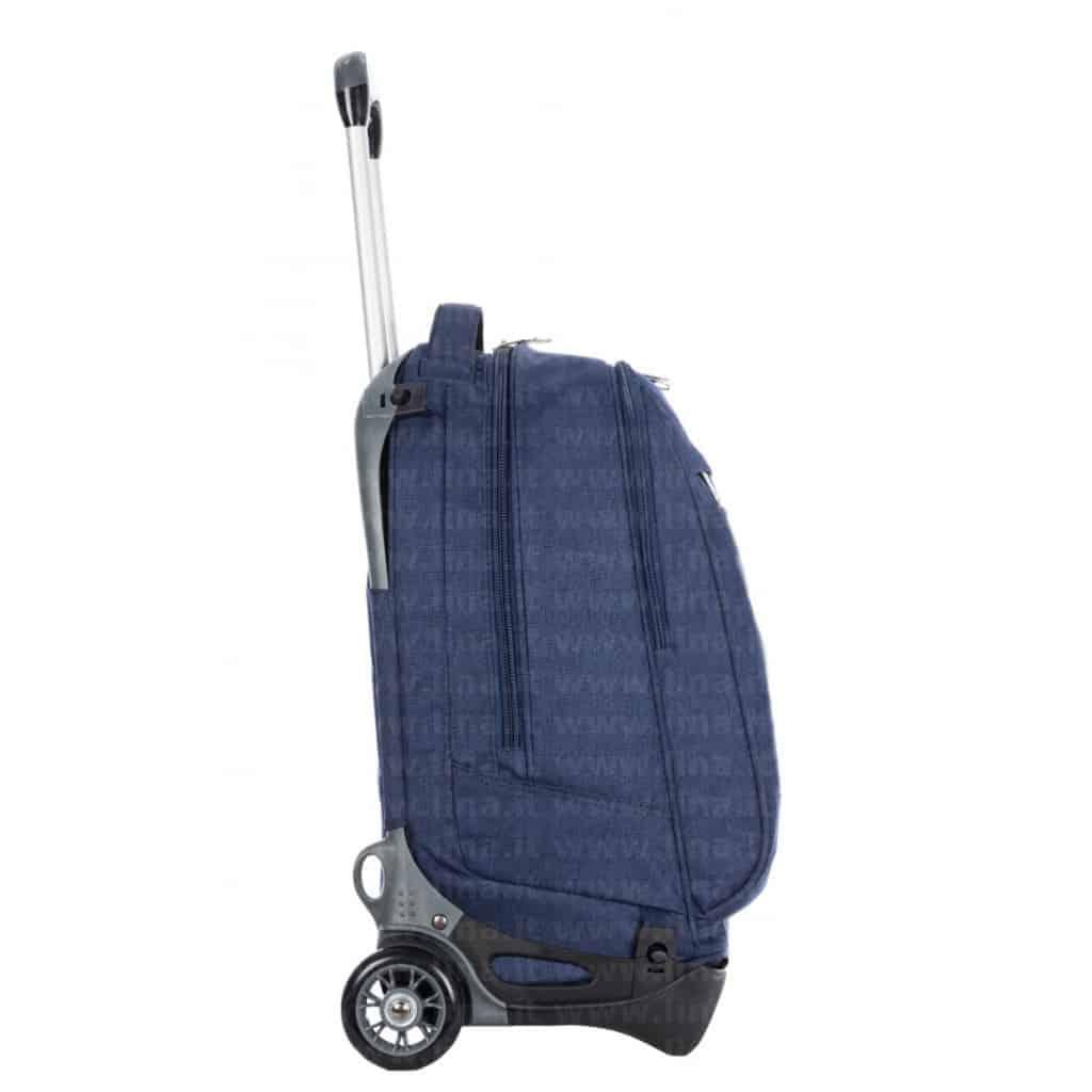 trolley invicta plug jack plain blu. Black Bedroom Furniture Sets. Home Design Ideas