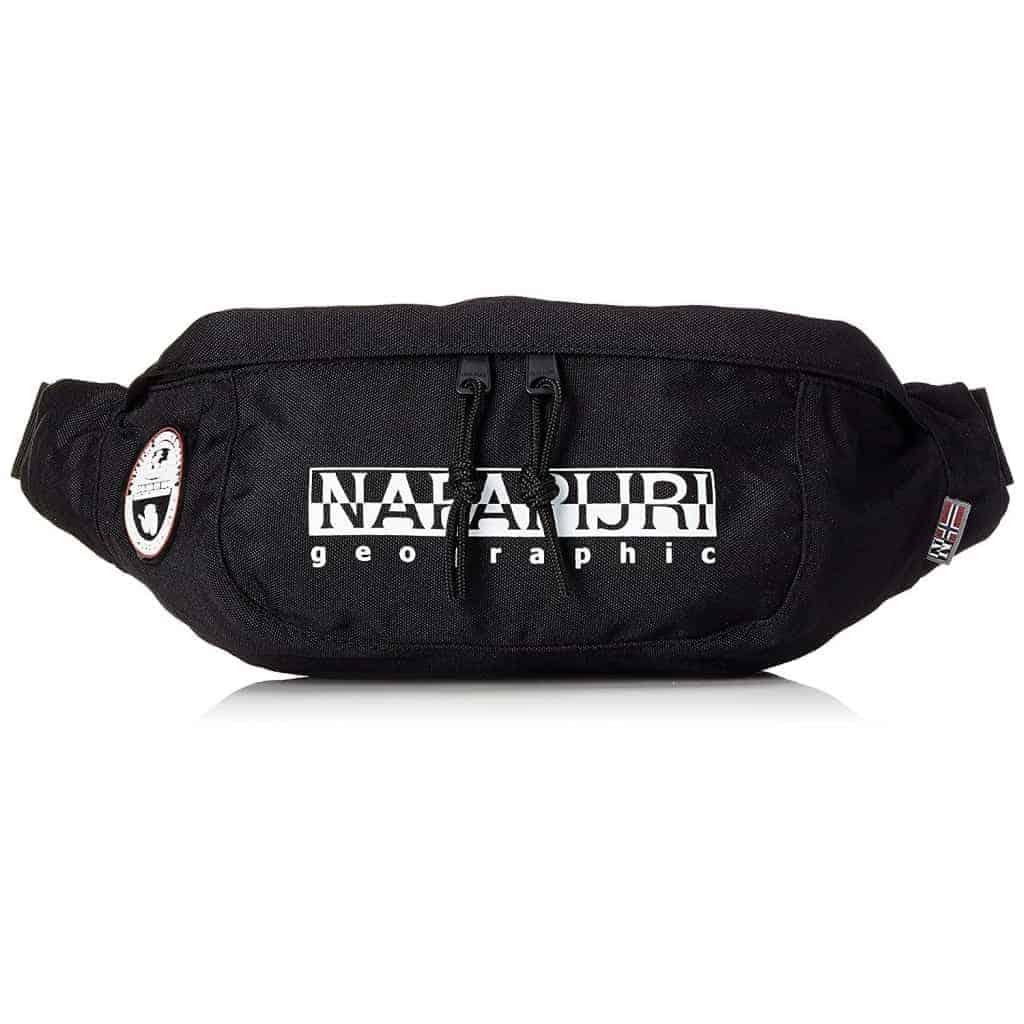 Marsupio Napapijri HAPPY BUM BAG black b255f7aebfb