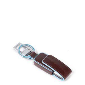 Custodia e chiavetta USB Piquadro 16GB Blue Square mogano