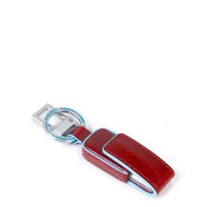 Custodia e chiavetta USB Piquadro 16GB Blue Square rosso