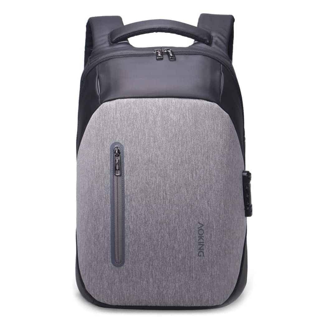 c9c76098dc Zaino Porta PC 15 Aoking waterproof chiusura TSA sicurezza massima