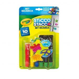 Sticco Sracco Crayola ricarica set