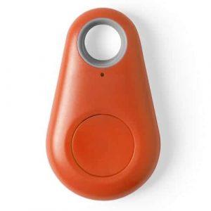 Localizzatore Bluetooth Portachiavi Intelligente Ritrova Oggetti Arancio