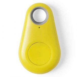 Localizzatore Bluetooth Portachiavi Intelligente Ritrova Oggetti Giallo