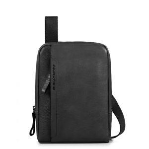 Borsello Piquadro porta iPad mini in pelle Pan nero