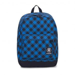 Carlson Fantasy Invicta Backpack Blue Plaid
