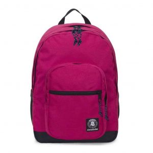 Jelek Plain Invicta Backpack Raspberry Wine