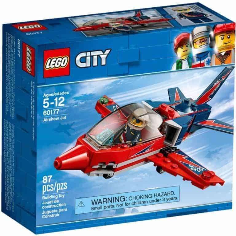 Lego City Jet acrobatico