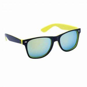 Occhiali da Sole protezione UV400 con lenti a specchio giallo