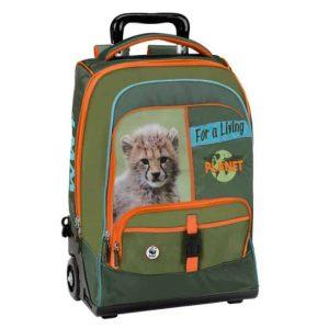 Trolley WWF boy verde adventure leone