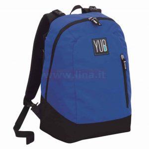 Zaino Yub Seven reversibile graffiti boy blu