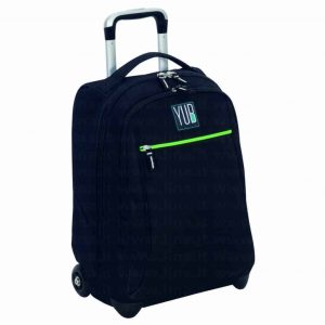 Trolley Yub Seven MAXI monocolor boy nero