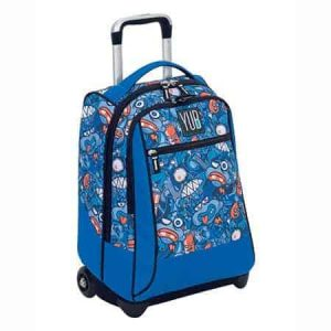 Trolley Yub Seven MAXI bubble style boy blu