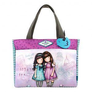 Shopper Gorjuss Cityscape Friends Walk Together 5018997620649