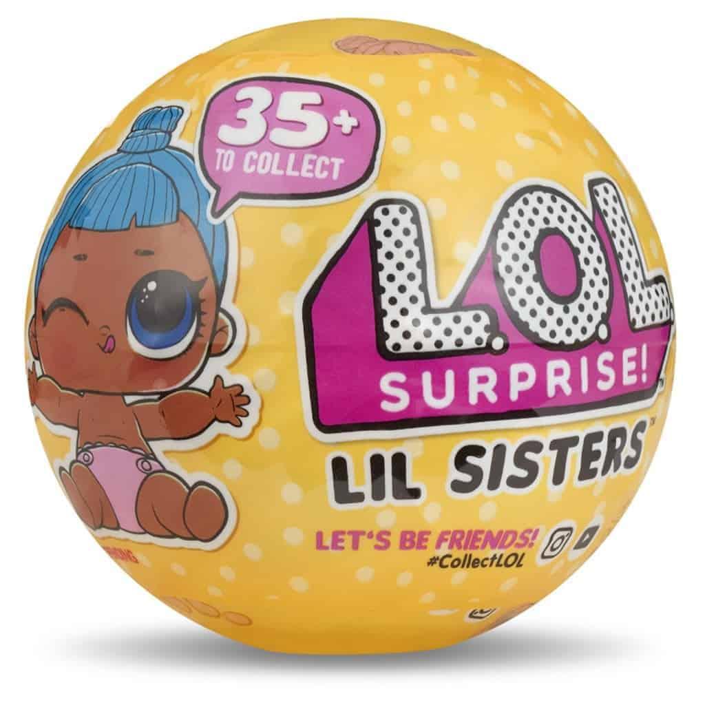 5 Livelli LIL Sister Serie 4 Sfera con Mini Doll a Sorpresa L.O.L Surprise