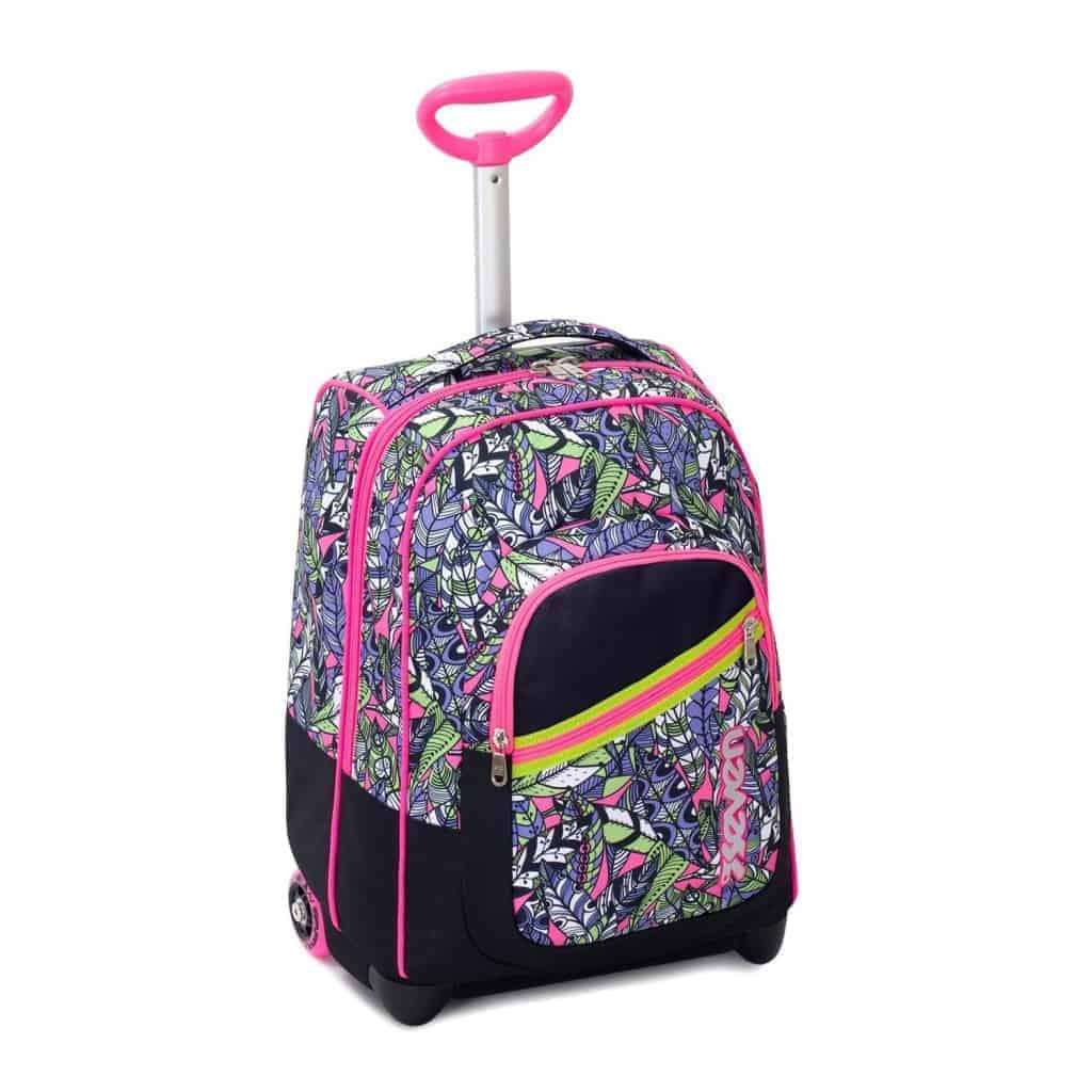 check-out 312af a526c Trolley SEVEN Fit Girl BUTTERFLY 35 Lt 2in1 Zaino con ...