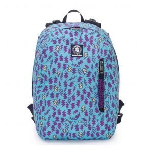 Invicta Zaino Reversibile Backpack Girl Azzurro Viola