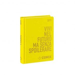 Diario COMIX 2019 16 mesi datato mini 9x12.5cm giallo