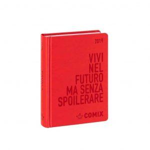 Diario COMIX 2019 16 mesi datato mini 9x12.5cm rosso
