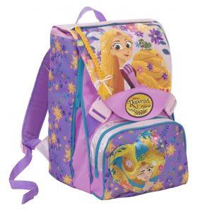 Rapunzel School Pack Zaino Estensibile La Serie+Astuccio+sakky bag